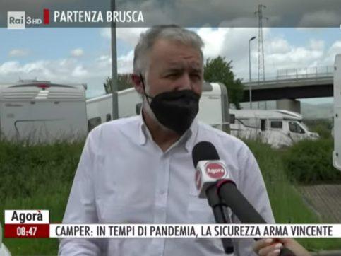 Caravanbacci ad Agorà Rai3