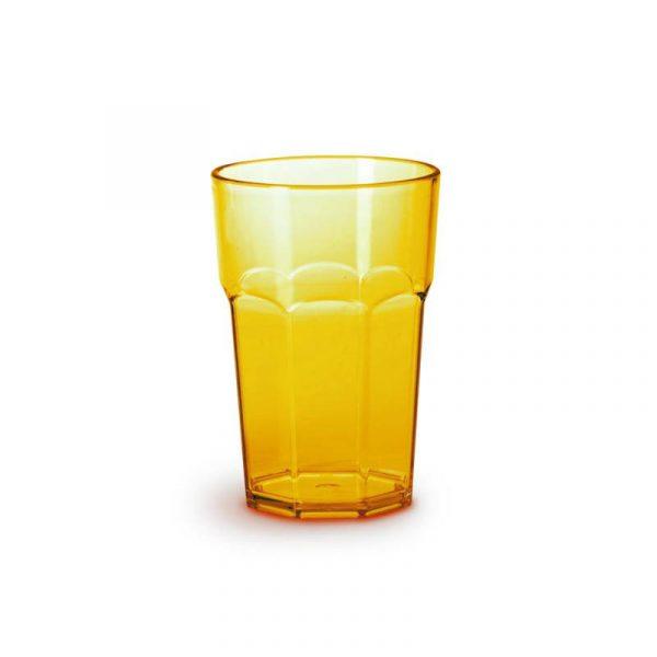 set 4 bicchieri in acrilico colorati caravanbacci