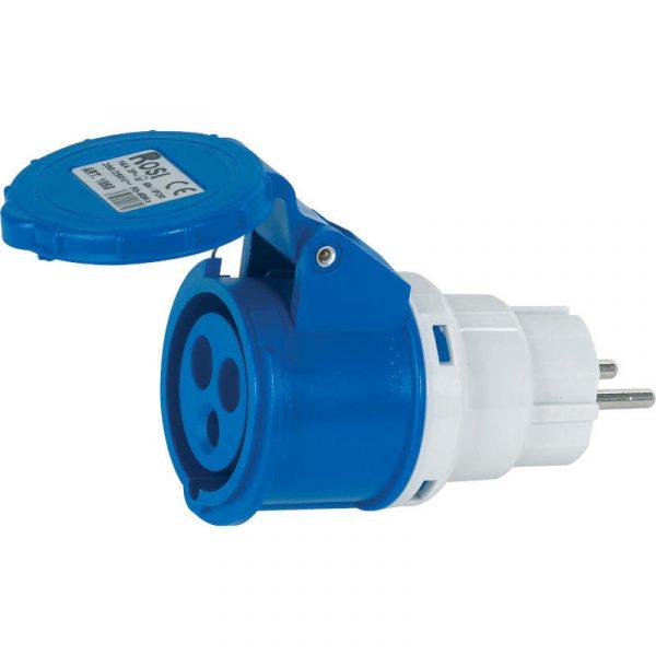 adattatore presa blu a spina normale RS1016 caravanbacci