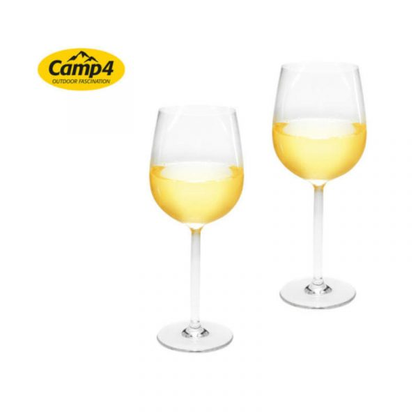 set 2 bicchieri vino rosso in plastica caravanbacci