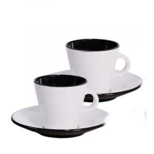 set 2 tazzine caffè espresso melammina caravanbacci