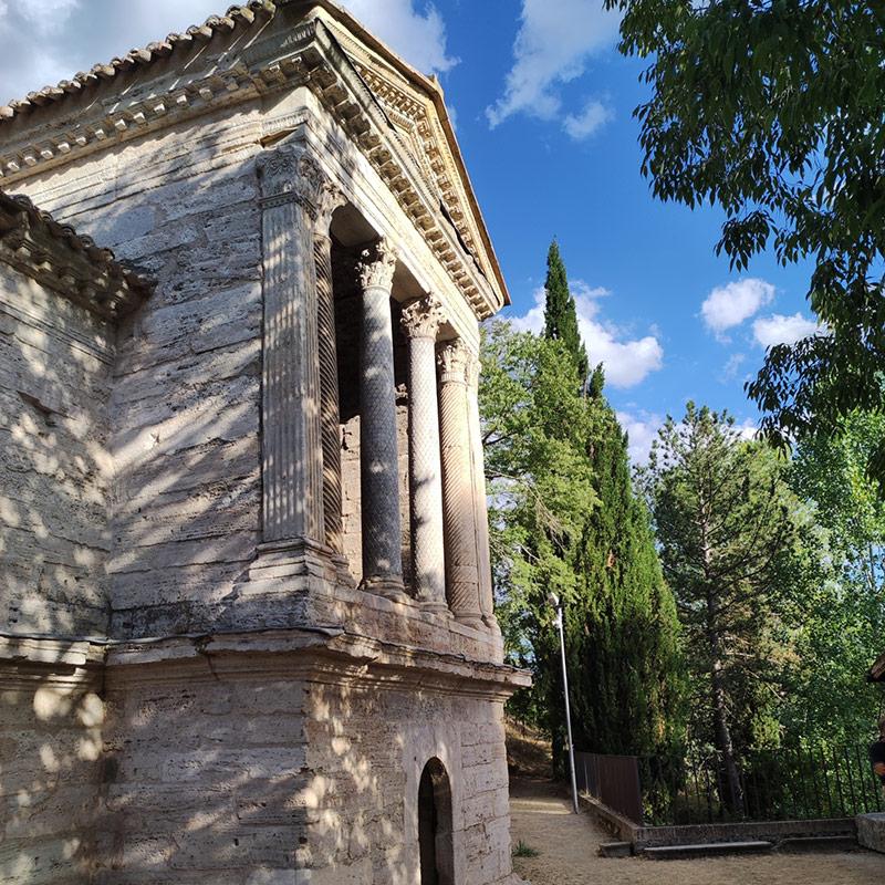 Fonti del Clitunno - I Viaggi della Famiglia Bacci
