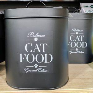contenitore latta cibo animali salva freschezza crocchette caravanbacci