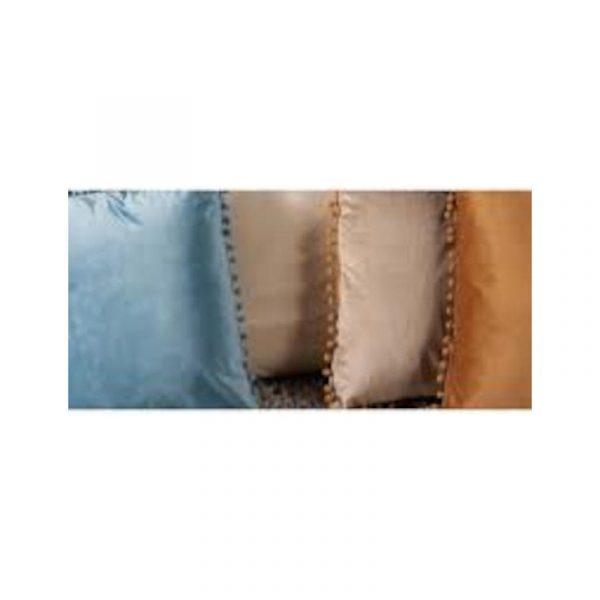 cuscino decorativo poliestere 4 colori caravanbacci