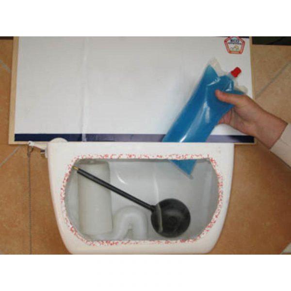 risparmio acqua sciacquone water bag caravanbacci