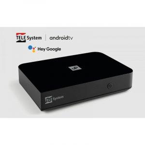 smart box con digitale terrestre e android TV telesystem caravanbacci